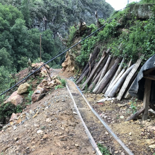 Old Mine Workings - Colombia - Copy